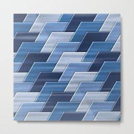 Geometrix XXXV Metal Print