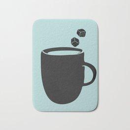 Ice coffee Bath Mat