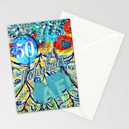 50 & Fabulous AF Stationery Cards