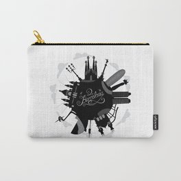 Barcelona World with significant buildings Carry-All Pouch
