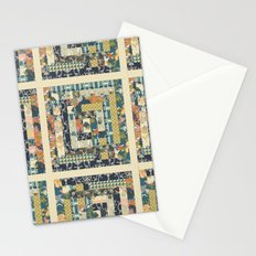 Art Deco Patchwork Stationery Cards