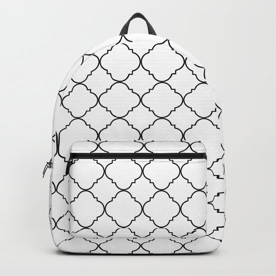 Minimalist Moroccan Backpack