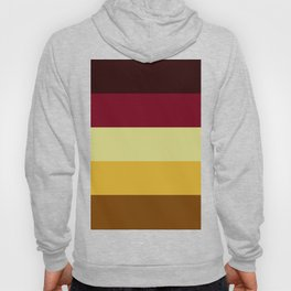 Ornamental Reds and Yellows Hoody