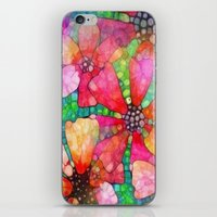 stained glass iPhone & iPod Skins featuring Stained Glass by 2dayspic