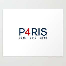 P4RIS Art Print