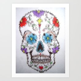 Watered down Tequila Art Print