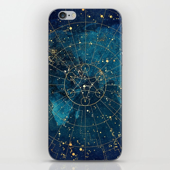 Star Map :: City Lights iPhone Skin