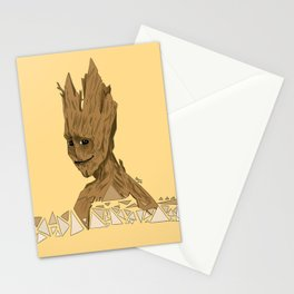 Happy Groot Stationery Cards