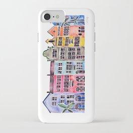Rainbow Row – Charleston iPhone Case