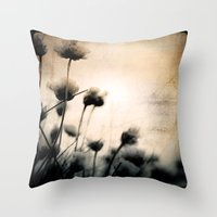 wild things Throw Pillows featuring wild things by Dorit Fuhg
