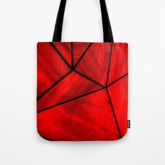 Modern Abstract Triangle Pattern Tote Bag