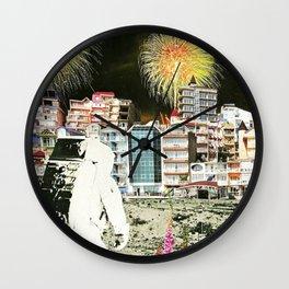 Moon Landing. Wall Clock