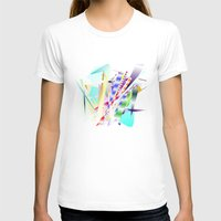 band T-shirts featuring Jazz Band by Nancy Smith