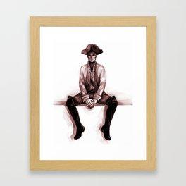 hancock Framed Art Print