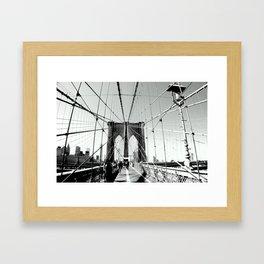 No Sleep 'Til Brooklyn Framed Art Print