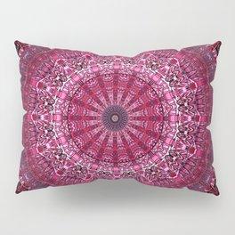 Vibrant Ultra Violet Mandala Pillow Sham