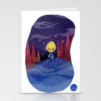 skeletor Stationery Cards featuring Skeletor is love by David Pavon