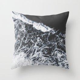 sea lace Throw Pillow