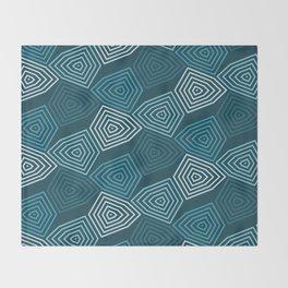 Op Art 64 Throw Blanket