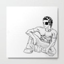 Hwoarang, Relaxation Metal Print