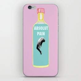Absolut Pain iPhone Skin