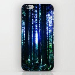 Blue June iPhone Skin