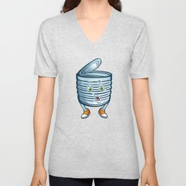 Tin Can Day Celebrations You Can do Recycle Dude  Unisex V-Neck