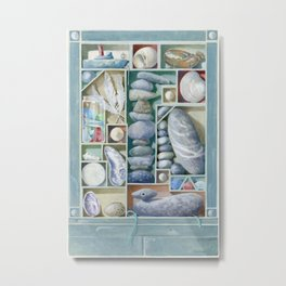 Atlantic Collection - Found Objects Metal Print