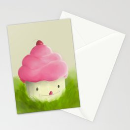 Go play with your cupcake Stationery Cards