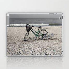 Bike on Barefoot Beach Laptop & iPad Skin