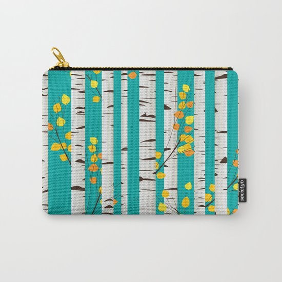 Birch wood Carry-All Pouch