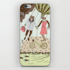 Mr and Mrs Raccoon iPhone & iPod Skin