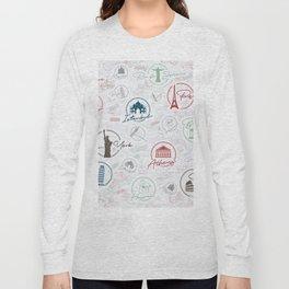 Travel lovers Long Sleeve T-shirt