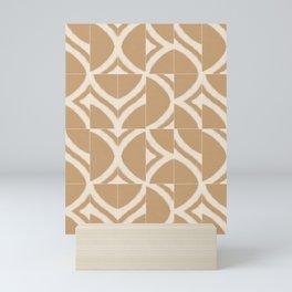 Rustic Sahara Messy Tiles Mini Art Print