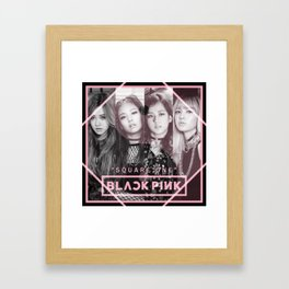 BLACKPINK Vintage Framed Art Print