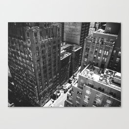 Vertigo, NYC.  Canvas Print