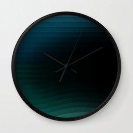The Deep Blue Sea Wall Clock
