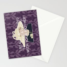 The Sign of Three - Mrs. Hudson Stationery Cards