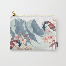 Sparrow Love Carry-All Pouch