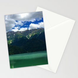 Mountain and Lake Stationery Cards