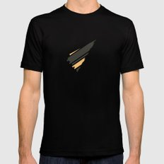 Omamori MEDIUM Mens Fitted Tee Black
