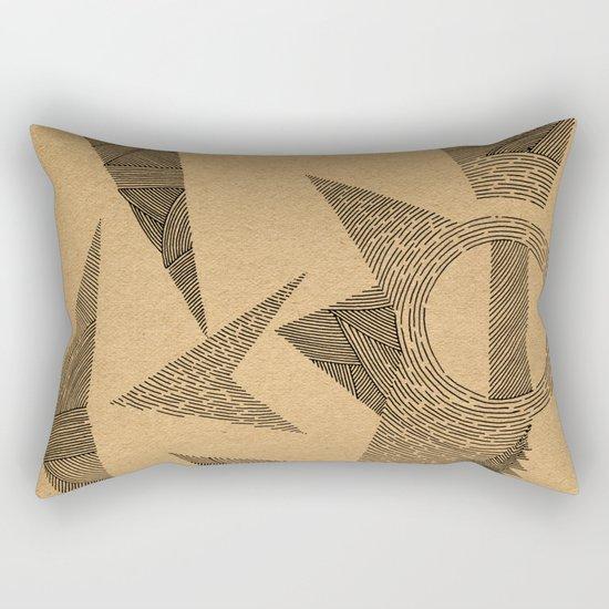 - silence - Rectangular Pillow