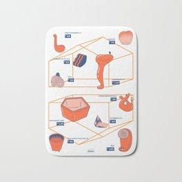 κλαν product poster Bath Mat