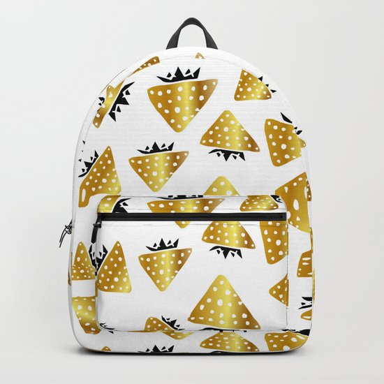 strawberry gold Backpack