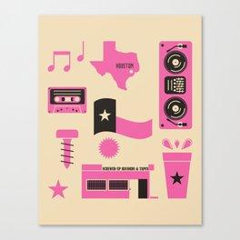 DJ Screw Movement Canvas Print