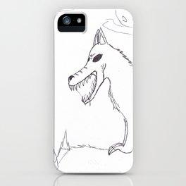 Demon Dog iPhone Case