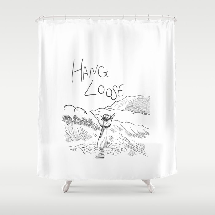 Hang Loose Shower Curtain