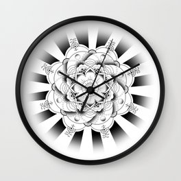 Zayn -- Mehndi Tattoo Wall Clock