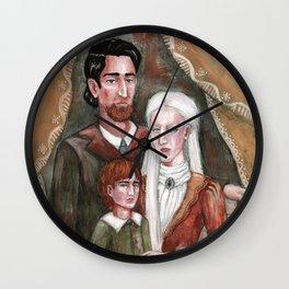 Victorian Era Family Wall Clock