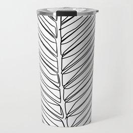 """Botanical Collection"" - Palm Tree Leaf Travel Mug"